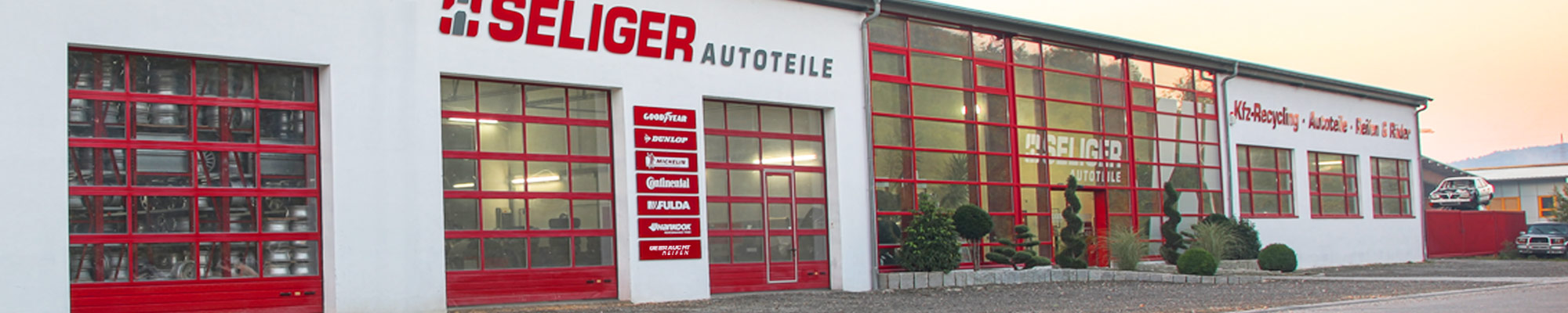 Home - Seliger Autoteile GmbH & CO. KG | KFZ-Recycling Autoteile Reifen